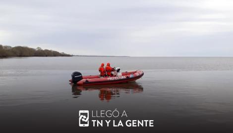 Los familiares de los pescadores desaparecidos rastrillarán el Delta del Tigre