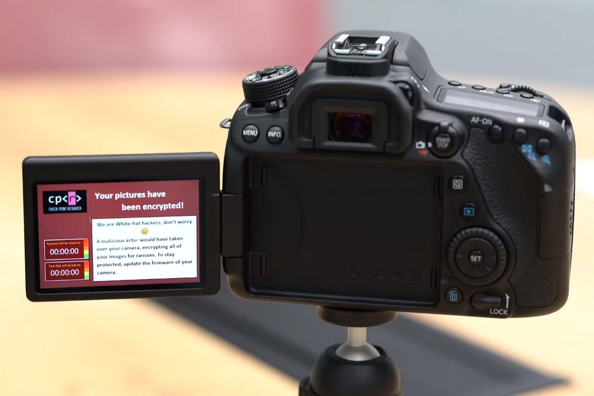 Las cámaras digitales también pueden sufrir un secuestro virtual con un ataque ransomware