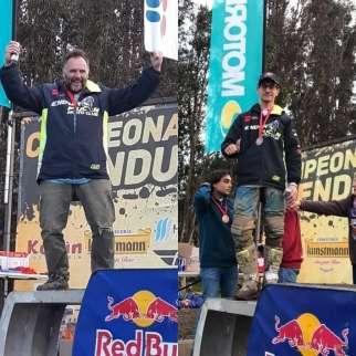 Dos Zeiss subieron al podio en Los Sauces