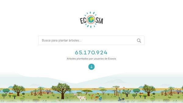 Incendio en Amazonas: cómo es el buscador web que promete sembrar un árbol cada vez que lo utilizan