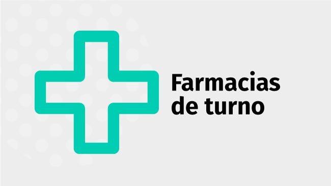 Farmacias de Turno: Lunes 26 de Agosto de 2019