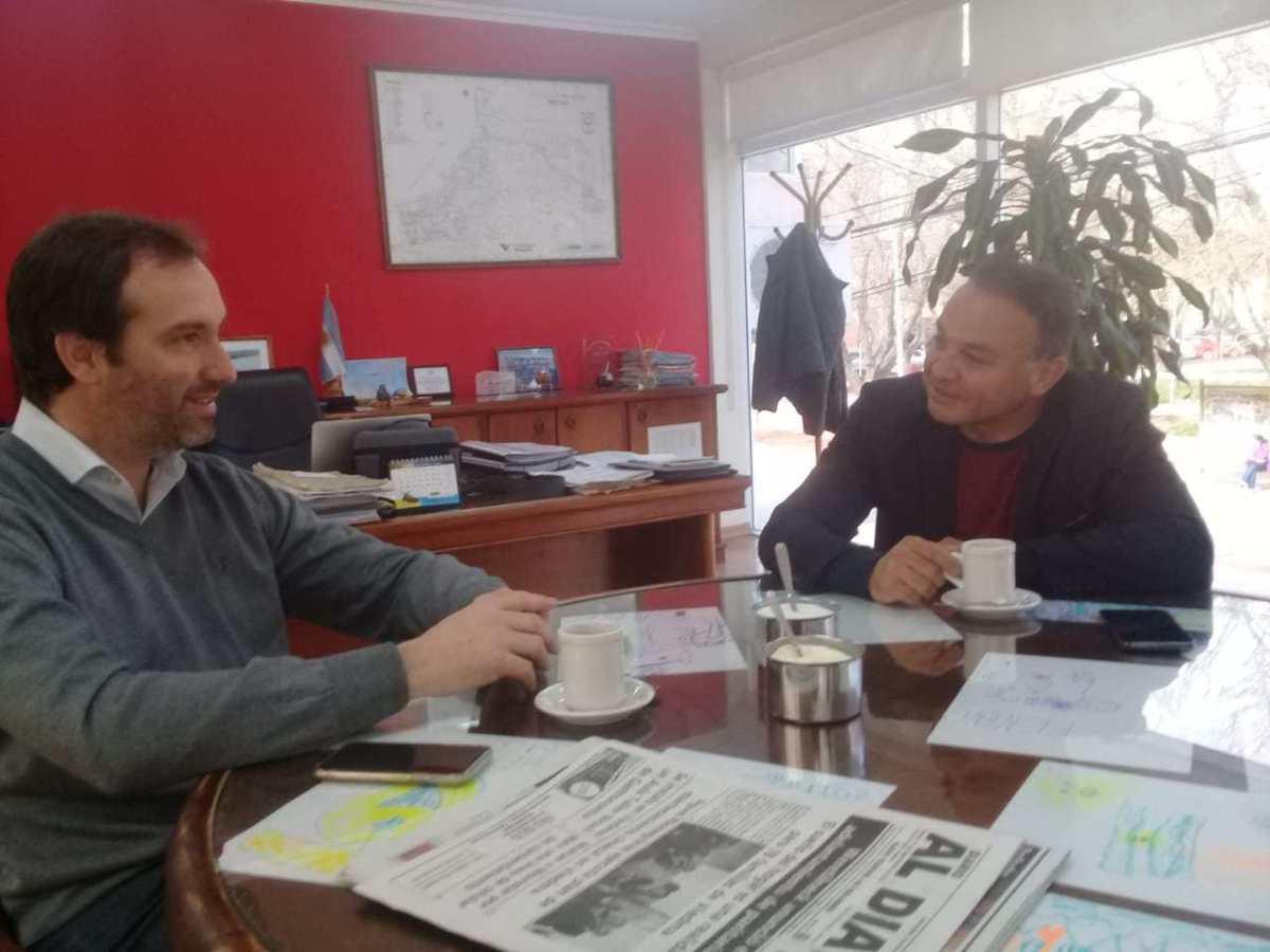 Rivero gestiona una planta potabilizadora en Campo Grande