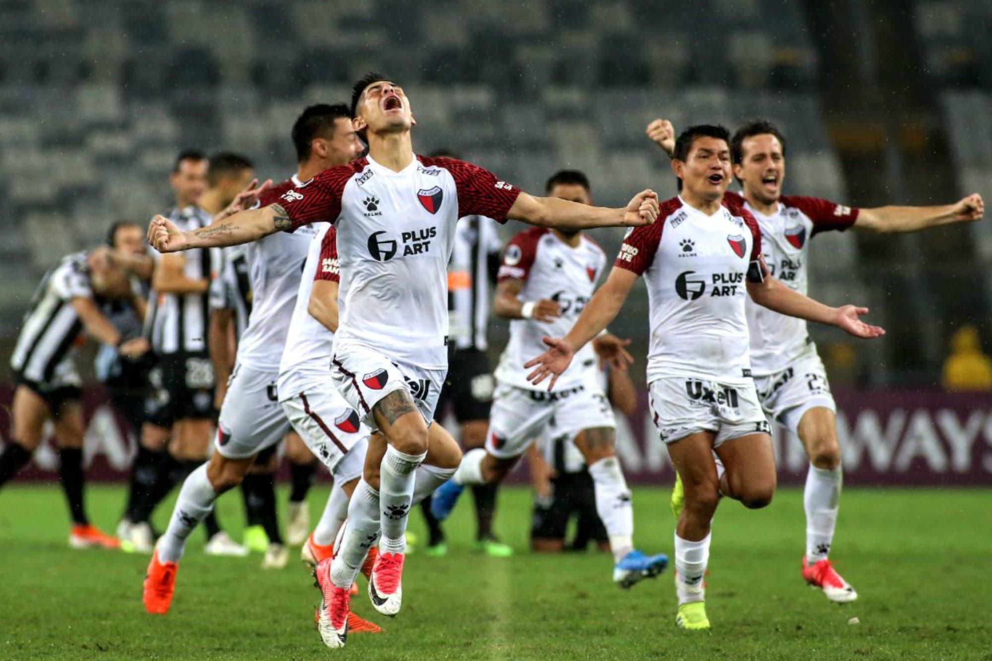 Atlético Mineiro-Colón. Histórico: el Sabalero ganó en los penales y es finalista de la Copa Sudamericana