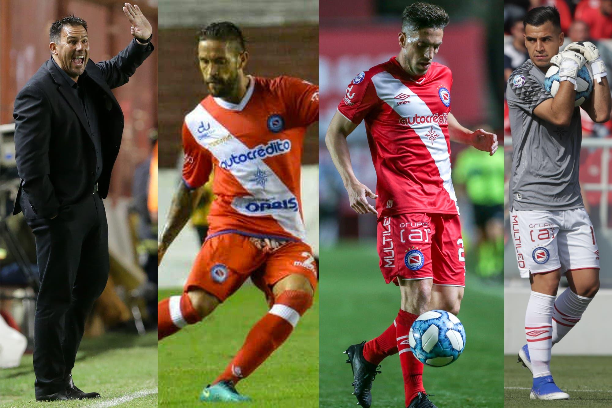 Superliga: los cuatro hombres clave del presente de Argentinos, un puntero impensado