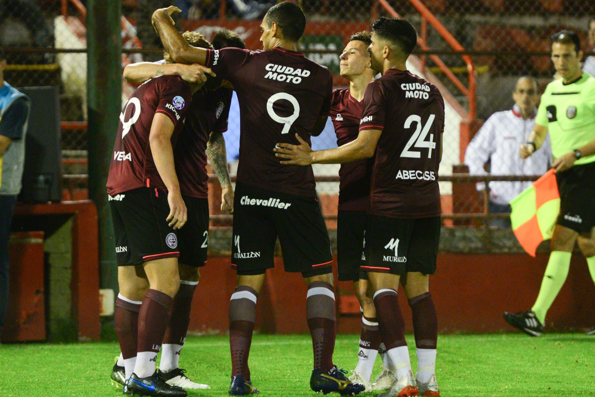 Huracán-Lanús, Superliga: el Granate ganó sobre el final y también es puntero