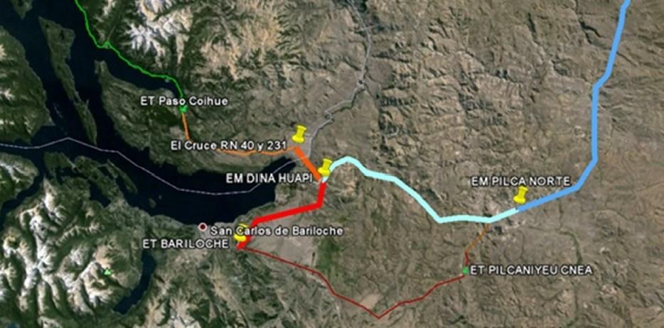 Apoyo de la CEB a la interconexión eléctrica a Bariloche