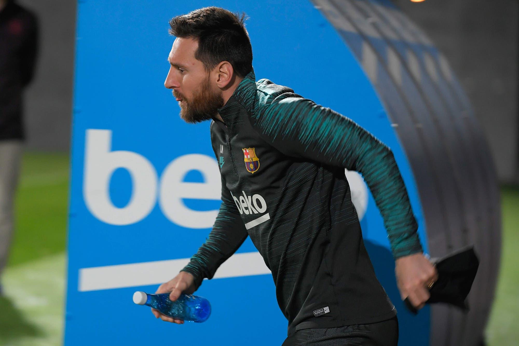 El desafío de Lionel Messi en el viaje de Barcelona al nuevo estadio de Atlético de Madrid