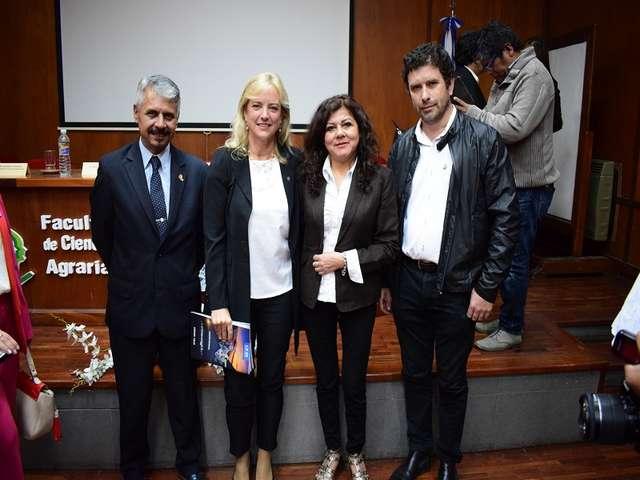 Karen Hallberg fue nombrada Doctora Honoris Causa por la Universidad Nacional de Jujuy