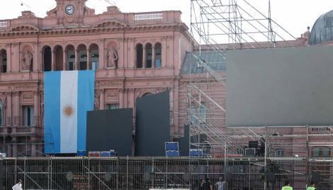 Qué calles y avenidas estarán cortadas durante la asunción de Alberto Fernández