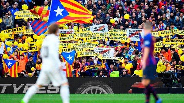 Una protesta enciende las alarmas para el clásico entre Barcelona y Real Madrid