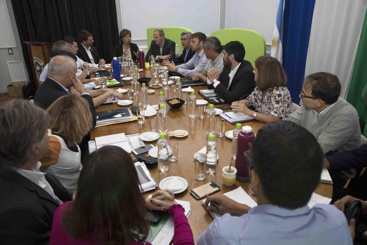 Arabela presidió su primera reunión de Gabinete