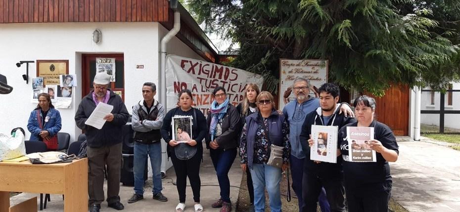 Bolsón: duro reclamo a la Justicia de familiares de víctimas
