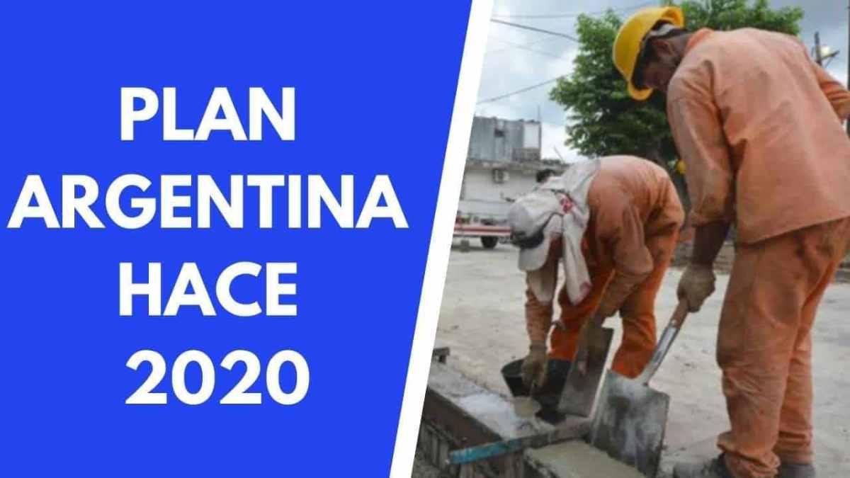 Alberto Fernández lanzó el Plan Argentina Hace 2020