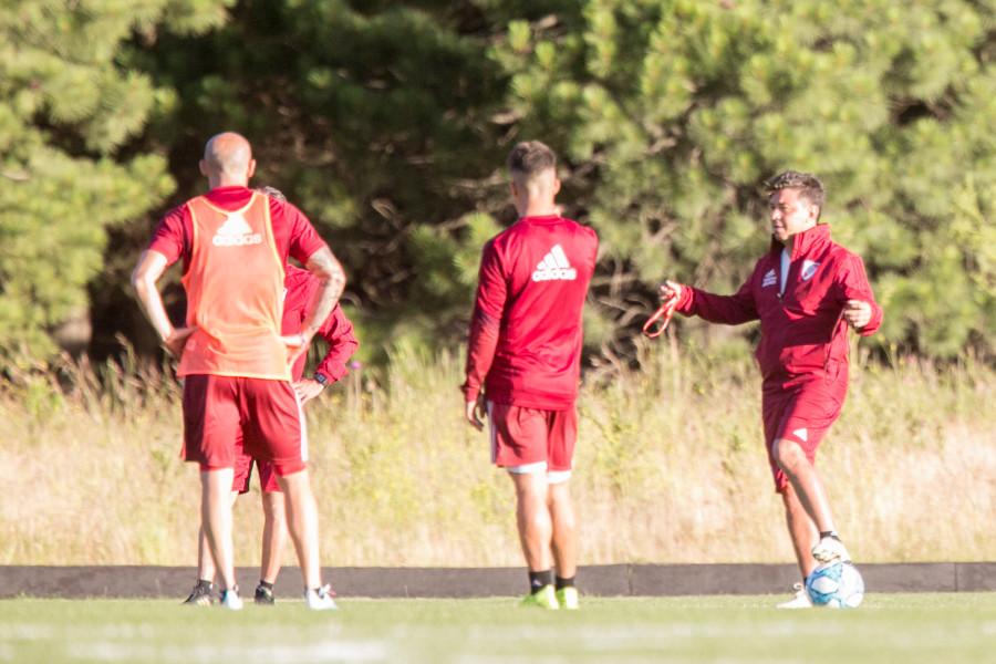 Tras su paso por San Martín y Uruguay, River vuelve hoy a los entrenamientos