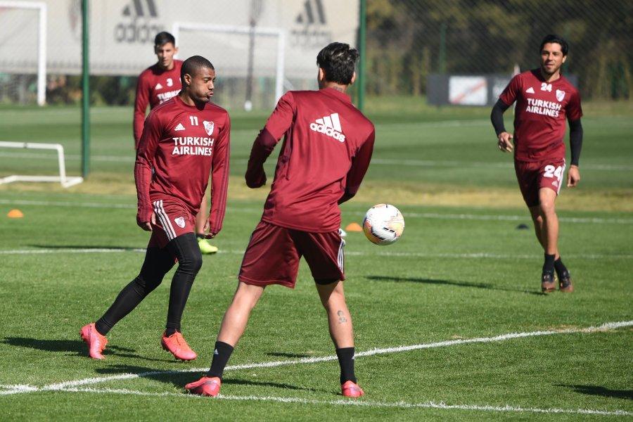 Libertadores: cómo es para un futbolista volver a jugar después de seis meses