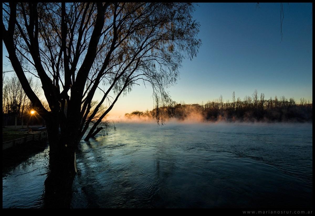 Testean la calidad del agua en el Limay, Neuquén y Negro