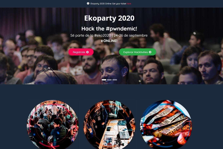 EkoParty 2020: cómo será la versión virtual de la conferencia de hacking más importante de América latina