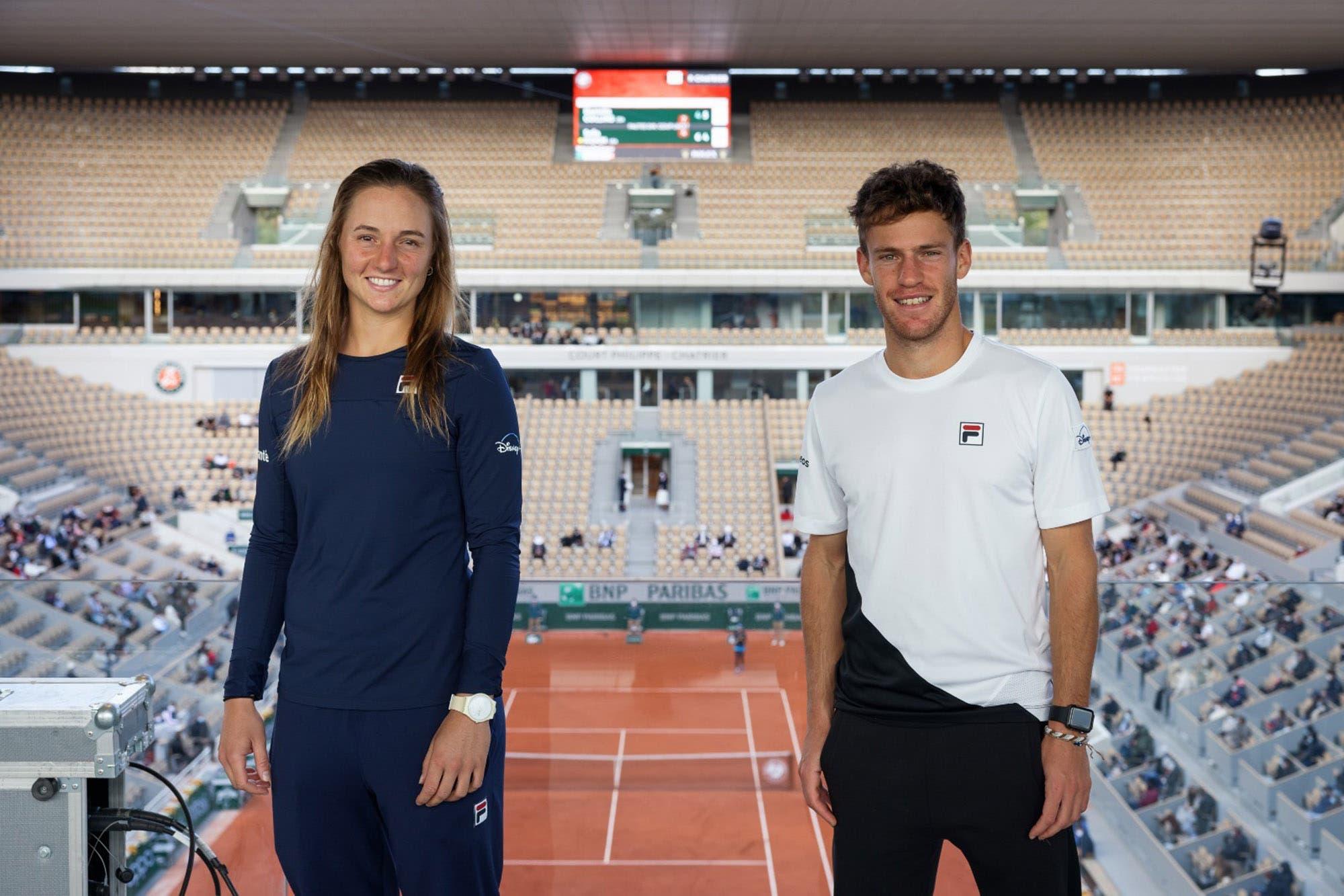 Nuevos rankings: los ascensos de Diego Schwartzman y Nadia Podoroska, ambos en su mejor momento