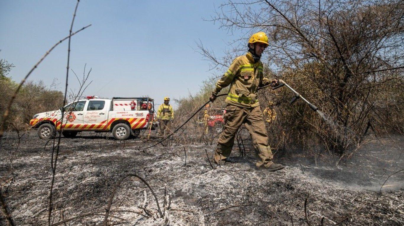Incendios en Córdoba: la lluvia trajo alivio y extinguió todos los focos activos