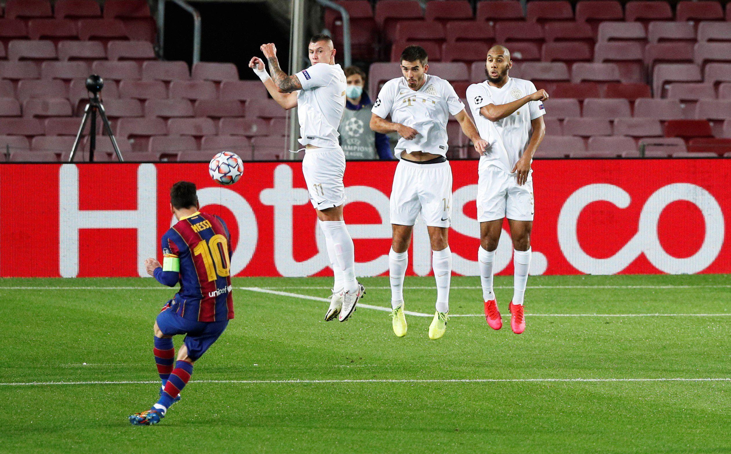 EN VIVO: Con un gol de Messi, Barcelona le gana al Ferencvaros por 1 a 0 en el debut de la Champions