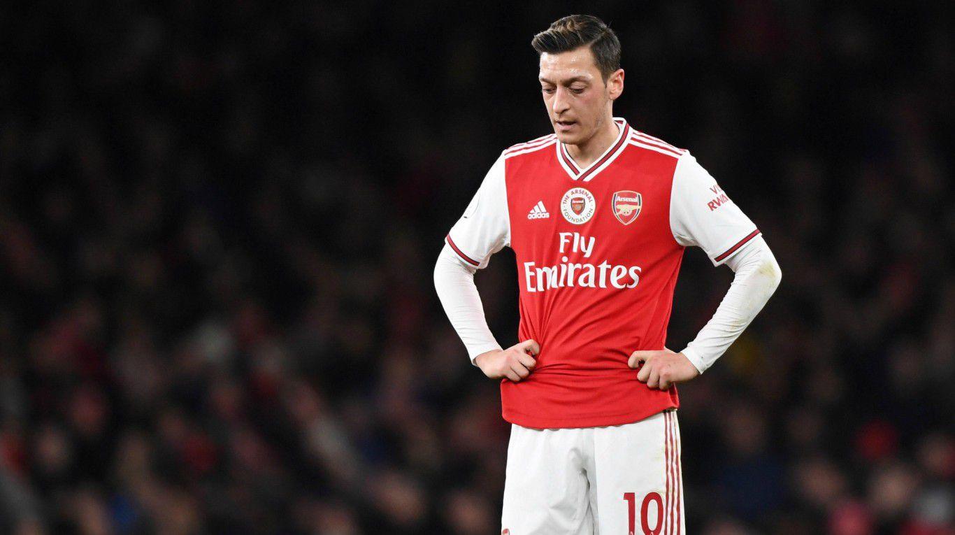 El ocaso de Mesut Ozil: de fichaje más caro en la historia del Arsenal a excluido del proyecto Arteta