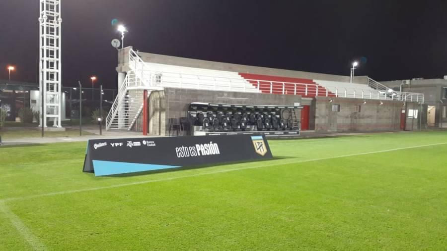 La Liga Profesional rechazó al River Camp y peligra el partido con Banfield