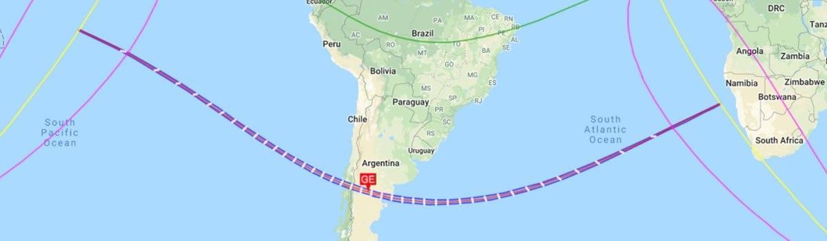 Eclipse: más de 400 km de Río Negro quedarán en un cono sombra