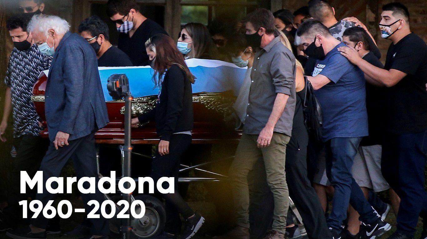 La muerte de Diego Maradona: la Justicia evalúa llamar como testigos a Dalma, Giannina y Jana