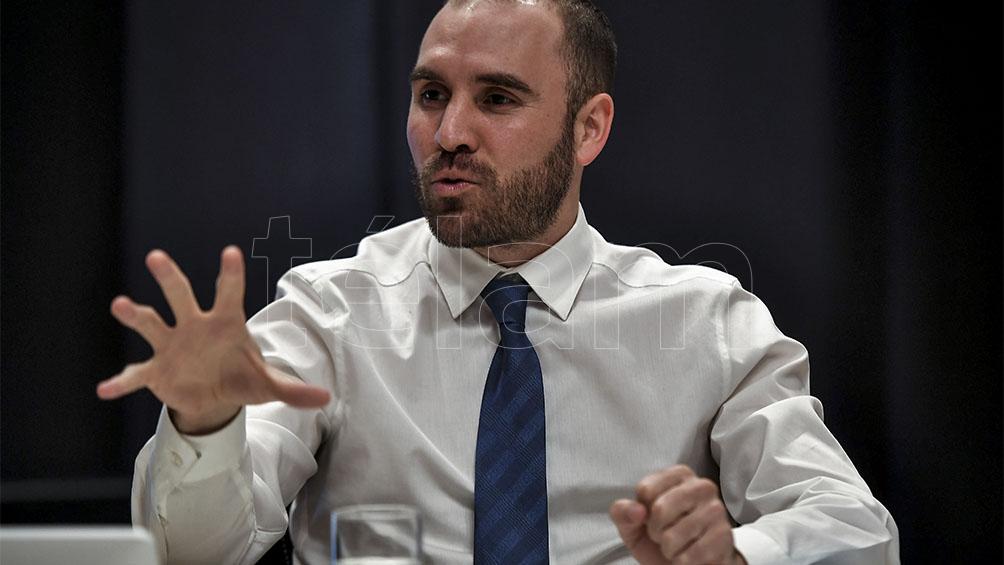"""Guzmán dijo que la economía argentina crecerá """"por lo menos 5,5% en 2021"""""""
