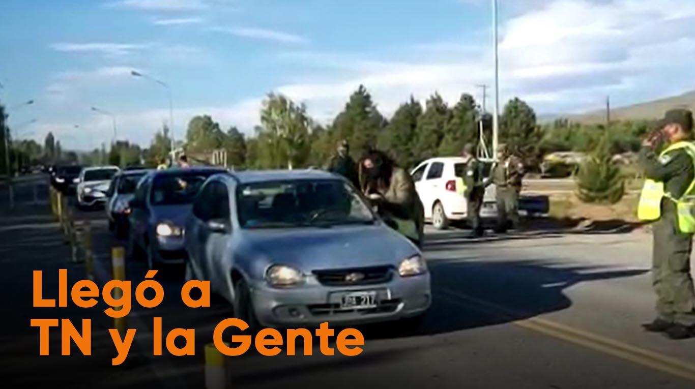 Varias familias tomaron terrenos del Instituto de la Vivienda en Junín de los Andes