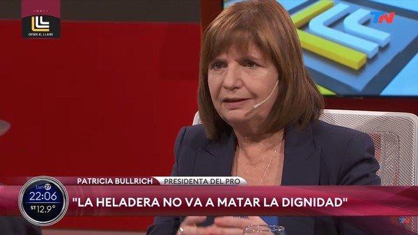 """la-proclama-electoral-de-patricia-bullrich:-""""la-heladera-no-va-a-matar-la-dignidad"""""""